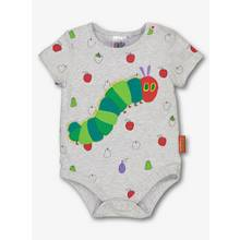 The Very Hungry Caterpillar Grey Bodysuit