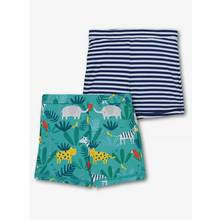 Online Exclusive Navy Safari Swim Shorts 2 Pack