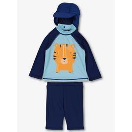 Online Exclusive Blue Tiger Sunsuit Set