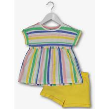 Multicoloured Stripe Top & Shorts Set (9 months - 6 years)