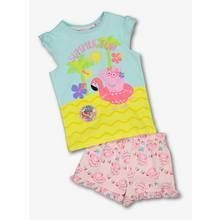 Peppa Pig Multicoloured Summer Pyjama Set