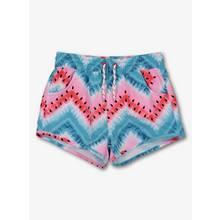 Multicoloured Watermelon Print Swim Shorts
