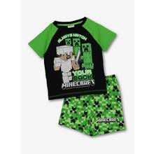 Minecraft Black & Green Pyjamas (4-12 years)