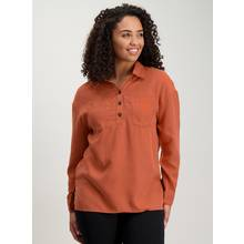Rust Orange Tencel Shirt - 24