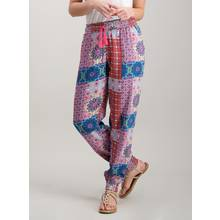 Multicoloured Morocco Print Trousers