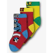 Marvel Avengers Multicoloured Socks 3 Pack