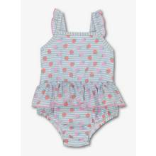 Multicoloured Strawberry Print Swimsuit (0 - 3 Years)