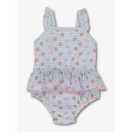 eea37c899faf7 Multicoloured Strawberry Print Swimsuit