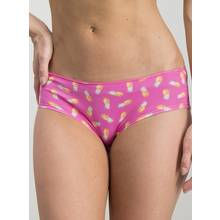 Olive Green & Pink Pineapple Print Shorts 5 Pack