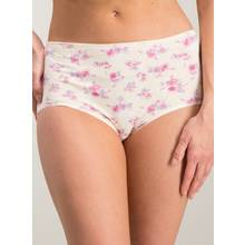 Multicoloured Floral Print Full Knickers 5 Pack