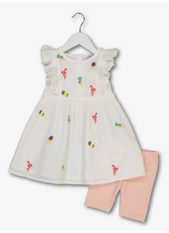 647bd6cd7939 Tu. Multicoloured Dress and Shorts Set (9 months - 6 ...