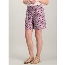 Multicoloured Geometric Print Jersey Shorts