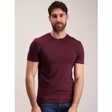 Oxblood Slim Fit Crew Neck T-Shirt