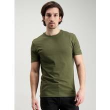 Khaki Slim Fit Crew Neck T-Shirt