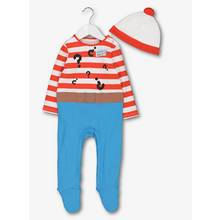 Online Exclusive Where's Wally Multicoloured All In One & Ha