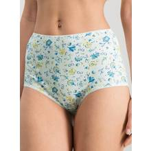 Blue & White Ditsy Print Floral Full Knickers 5 Pack