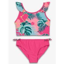 Mini Me PinkTropical Floral Print Bikini