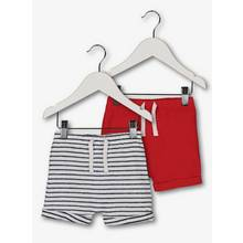 Multicoloured Nautical Jersey Shorts 2 Pack