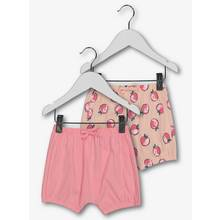 Pink & Peach Jersey Shorts 2 Pack