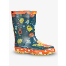 Navy Monster Colour Change Wellies (6 infant - 4 child)