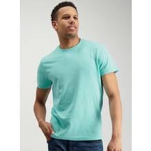 Aqua Blue Crew Neck T-Shirt