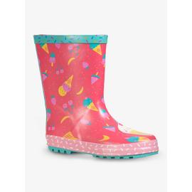 Pink Ice Cream Colour Change Wellies