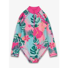 Multicoloured Tropical Floral Swimsuit - 1-1.5 years