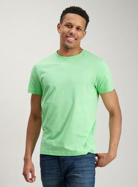 Neon Green Crew Neck T-Shirt