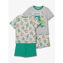Green Superhero Croc Pyjama 2 Pack (18 months-12 years)