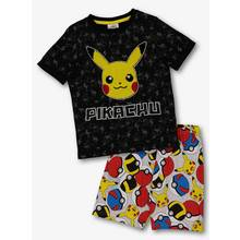 Pokemon Black Short Pyjamas (3 12 years)