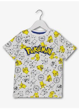 afc8d9b329a Pokémon Pikachu Short Sleeved T-Shirt (3 - 12 Years)