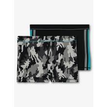 Black & Grey Camouflage Swim Shorts 2 Pack