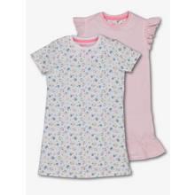 Floral Stripe Nightie Dress 2 Pack
