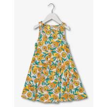 Multicoloured Citrus Print Jersey Dress (3 - 14 Years)
