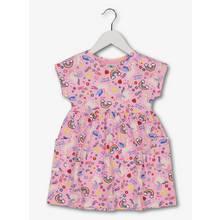Pink Unicorn Print Dress (9 Months - 6 Years)