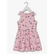 Pink Unicorn Sleeveless Jersey Dress (3 - 14 Years)