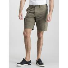 Online Exclusive Khaki Cargo Shorts - 36