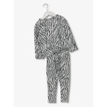 Monochrome Zebra Knit Two Piece Set (9 months-6 years)