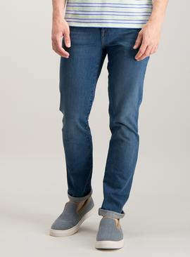 Online Exclusive Blue Skinny Fit 4 Way Stretch Jeans