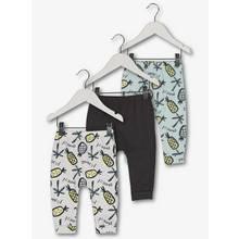 Multicoloured Pineapple Jersey Legging 3 Pack