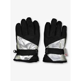THINSULATE Black & Silver Snow Gloves