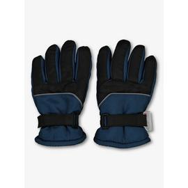 THINSULATE Black & Blue Snow Gloves