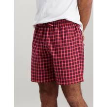 Multicoloured Check Pure Cotton Pyjama Shorts 2 Pack