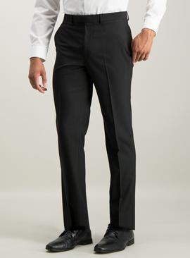 Online Exclusive Black Tailored Fit Suit Trousers