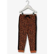 Brown Leopard Print Joggers (3-14 years)