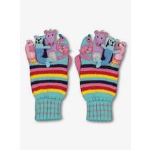 Multicoloured Finger Puppet Gloves