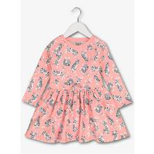 Pink Tiger Print Sweater Dress (9 months - 6 years)
