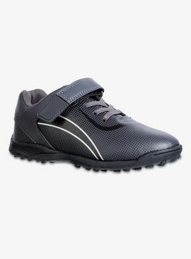 Black Astro Turf Football Trainers
