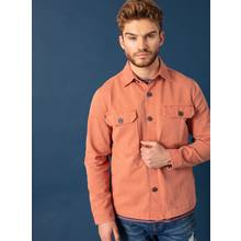 Graduate Fashion Week Rust Denim Worker Overshirt
