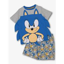 Sonic The Hedgehog Top & Shorts Pyjama Set (4-12 Years)